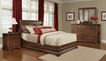 Retreat Cherry Collection from Cresent Fine Furniture